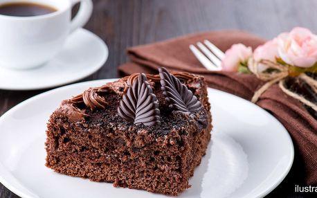 Otevřený voucher do kavárny: káva i dortíky