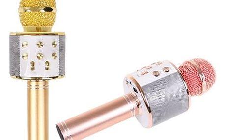 Karaoke mikrofon WS-858 s reproduktorem