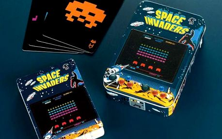 Hrací karty Space Invaders