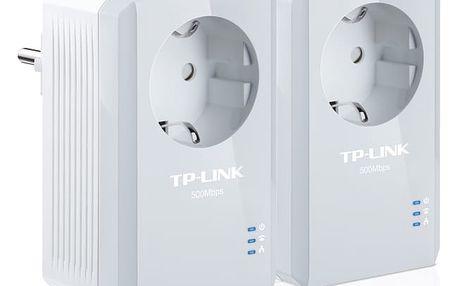 Síťový rozvod LAN po 230V TP-Link TL-PA4010P KIT bílý (TL-PA4010PKIT)