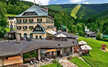 Letní pobyt v Krkonoších: polopenze a wellness
