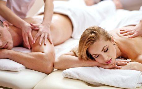 Partnerská čokoládová masáž v délce 60 minut
