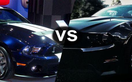 Jízdy snů: Mustang GT5.0 vs Mustang GT500 SHELBY