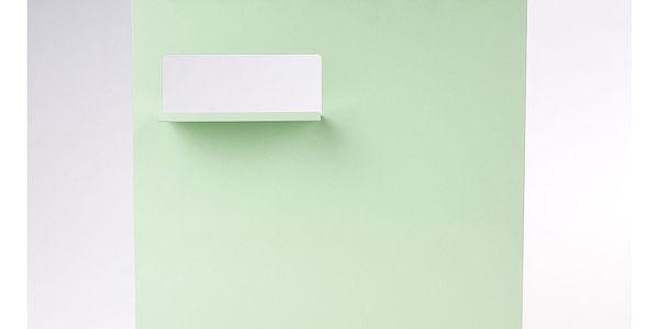 Neon Living Organizér Keywall na klíče s magnetickou tabulí 45 x 55 cm, zelený4