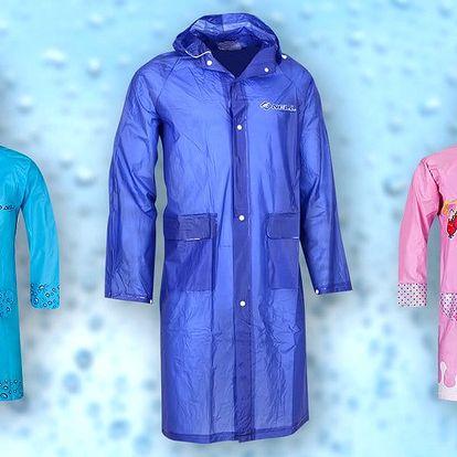 Pláštěnky Nell pro dospělé i pro děti