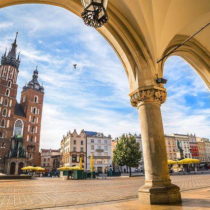 Pobyt v Krakově v hotelu Nowa Panorama se snídaní
