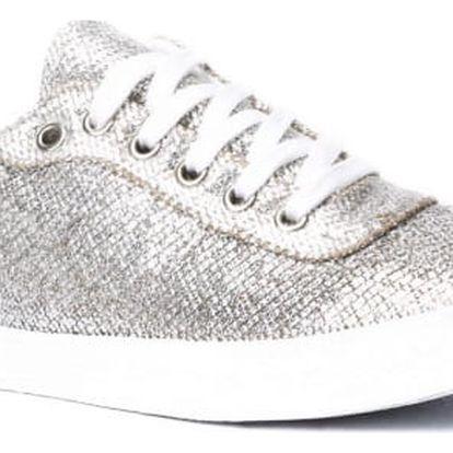 Dámské stříbrné tenisky May 007