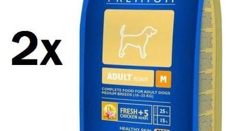 Brit Premium Dog Adult M 2 x 15 kg