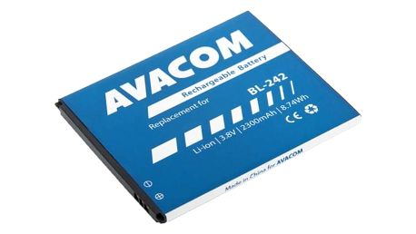 Baterie Avacom pro Lenovo A6000, Li-Ion 3,8V 2300mAh (náhrada BL242) (GSLE-BL242-2300)