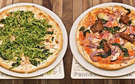 1 nebo 2 pizzy a nápoj v restauraci Vabene