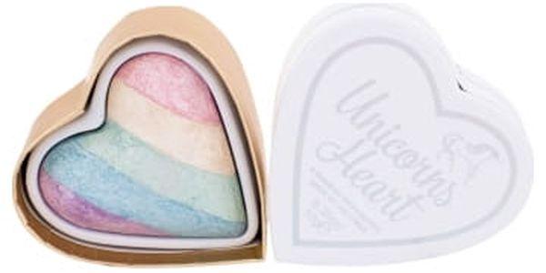 Makeup Revolution London I Heart Makeup Unicorns Heart 10 g rozjasňovač pro ženy