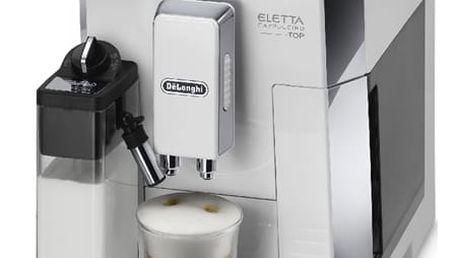 Espresso DeLonghi Eletta ECAM 45.760 W bílé/nerez