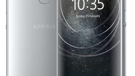 Mobilní telefon Sony Xperia XA2 Dual SIM stříbrný (1312-6695)