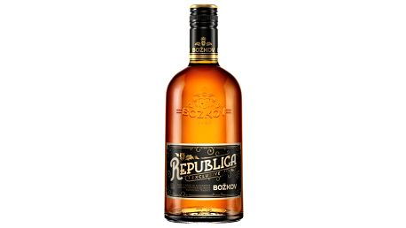 Rum Republica Exclusive Božkov 0,7l 38%