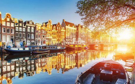 Za chutí sýrů a mlýny do Amsterdamu na 1 noc
