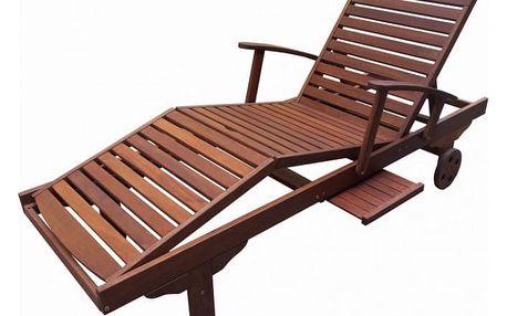 Tradgard ERA 35296 Dřevěné zahradní lehátko