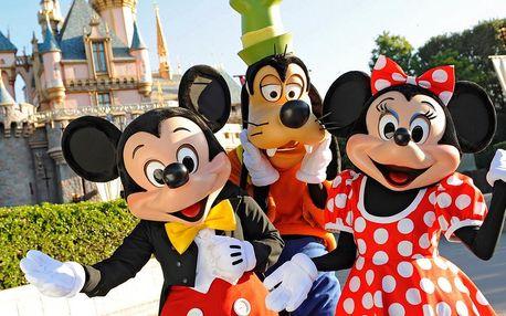 Disneyland v Paříži - nejen pro děti, ale i adrenalin pro dospělé!