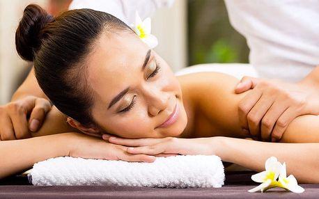 Za vůní orientu: thajská masáž dle výběru