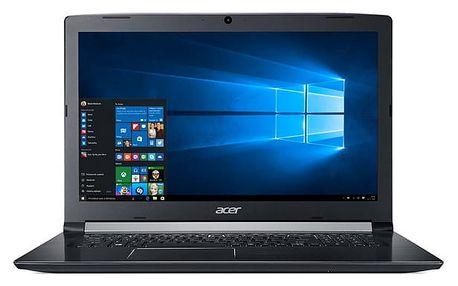 Notebook Acer 5 (A517-51G-521W) (NX.GVQEC.001) černý Software F-Secure SAFE, 3 zařízení / 6 měsíců + Monitorovací software Pinya Guard - licence na 6 měsíců v hodnotě 979 Kč + DOPRAVA ZDARMA