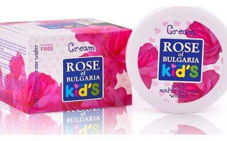 Balíček dětské kosmetiky bez parabenů zn. Rose of Bulgaria