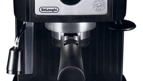 Espresso DeLonghi EC 156.B černé/stříbrné