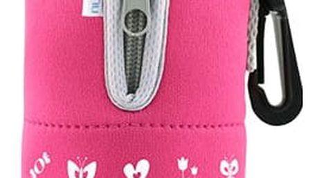 NUVITA Cestovní ohřívač lahve se zipem, Pink