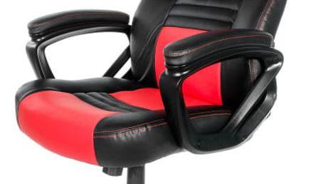 Herní židle Arozzi MONZA černá/červená (MONZA-RD)