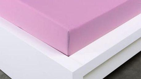 XPOSE ® Jersey prostěradlo Exclusive dvoulůžko - levandulová 140x200 cm