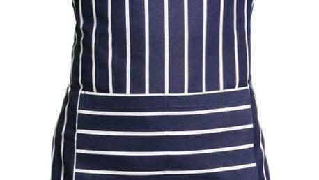 Modrobílá zástěra Premier Housewares Butcher Stripe Apron