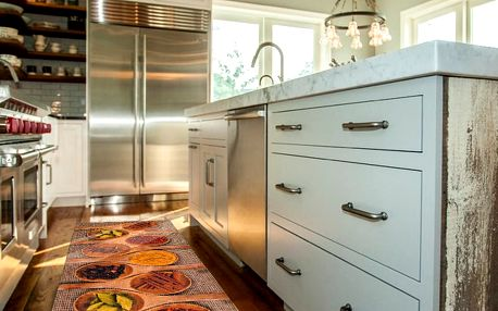 Vysoce odolný kuchyňský koberec Webtappeti Spices Market,60x115cm