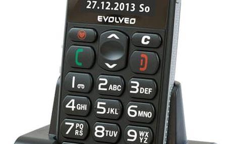 Mobilní telefon Evolveo EasyPhone EP-500 černý (EP-500)