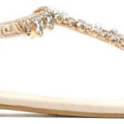 Dámské béžové sandály Alica 7264