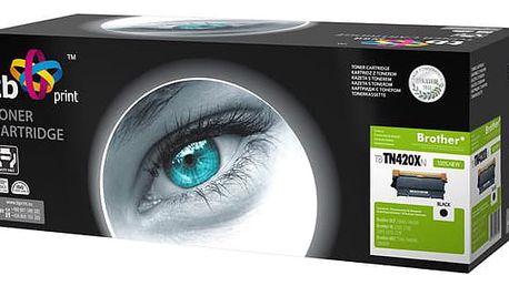 Toner TB Brother TN2220 - kompatibilní černý (kompatibilní) (TB-TN420XN)