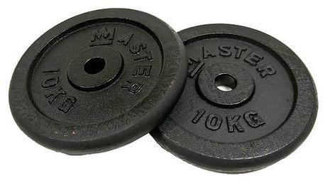 Závaží (30mm) Master 10 kg kov (pár)