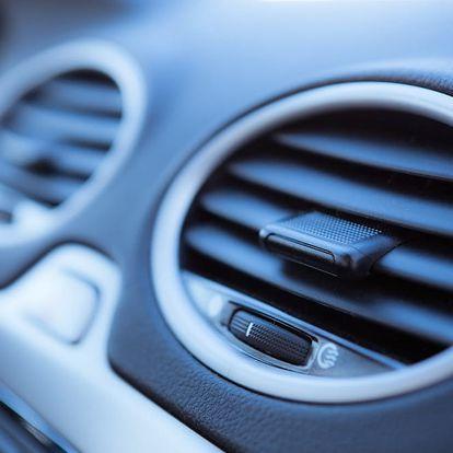 Dezinfekce klimatizace vozu ozónem - likvidace virů a zápachu