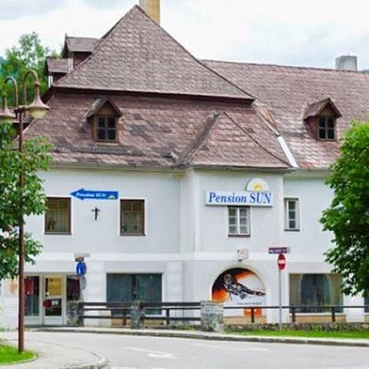 Rakouské Alpy pro dva na 3 dny v českém penzionu SUN s platností až do října 2018.