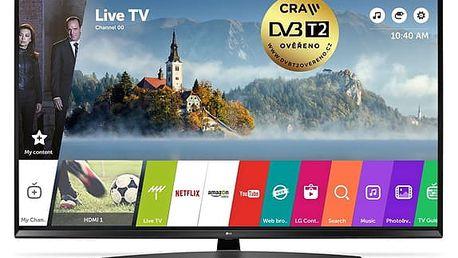 Televize LG 55UJ635V černá + DOPRAVA ZDARMA