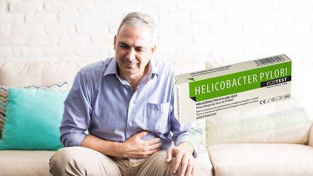 Prevence žaludečních vředů: domácí test nahelicobacter pylori