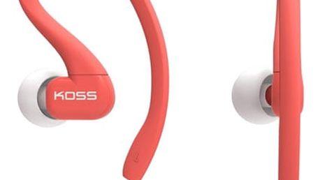 Sluchátka Koss KSC32C (doživotní záruka) červená