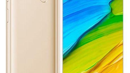 Mobilní telefon Xiaomi Redmi 5 16 GB (17603) zlatý Software F-Secure SAFE, 3 zařízení / 6 měsíců v hodnotě 979 Kč + DOPRAVA ZDARMA