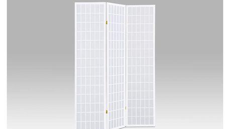 Paraván 3dílný - bílá EF-805 WT Autronic