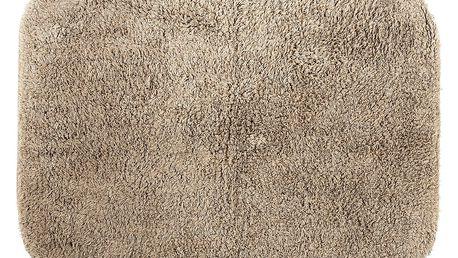 Koopman Koupelnová předložka Julius hnědá, 60 x 90 cm