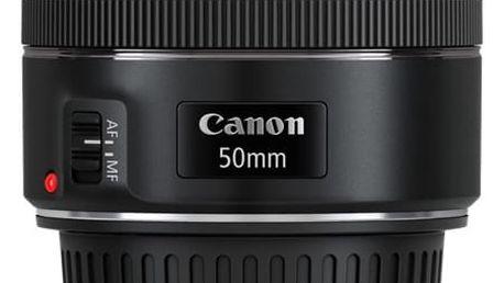Objektiv Canon EF 50mm f/1.8 STM černý