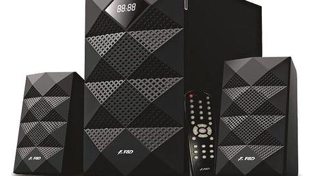Reproduktory Fenda F&D A180X 2.1, bluetooth, USB, SD, FM černé (A180X)