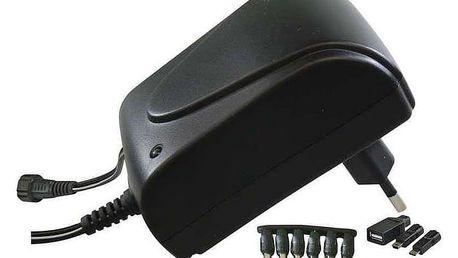 Napájecí adaptér EMOS pulzní 1500mA s hřebínkem (SWP1500)