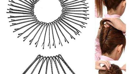 Fashion Icon Sada vlasové sponky 45 mm lakované 50 ks