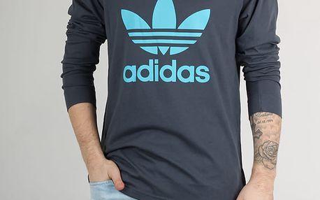 Tričko adidas Originals TREF RAGL TE Šedá
