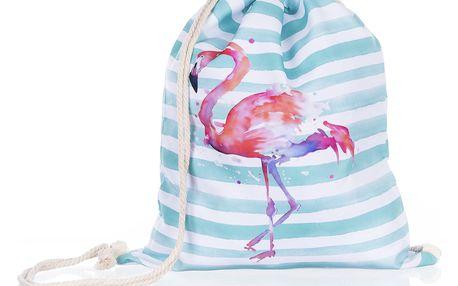 Fashion Icon Sportovní vak flamingo Plameňák