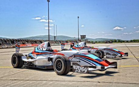Jízda ve Formuli Renault 2.0 na okruhu - 4 kola