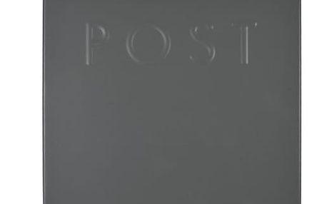 Šedá poštovní schránka Garden Trading Post Box